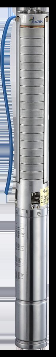 Evak Pumps V4S-5M06-2W, 230V, 0.55kW, 1.5m kabelu