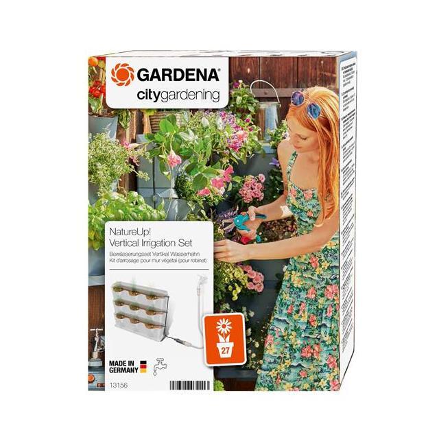 Gardena NatureUp-zavlažovací sada vertikální - vodovodní kohoutek