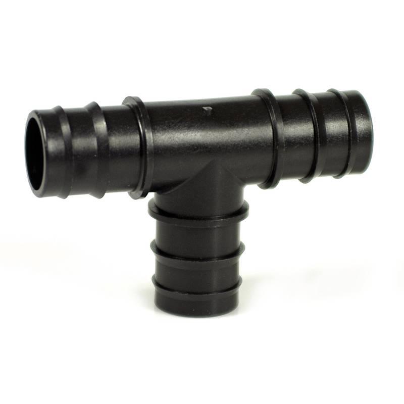 Irritec T-kus nástrčný 16 x 16 x16 mm - černý PP - pro TANDEM - GDF