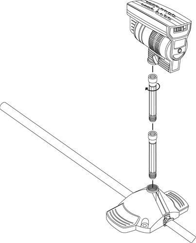 Gardena Prodlužovací trubka pro postřikovač OS90