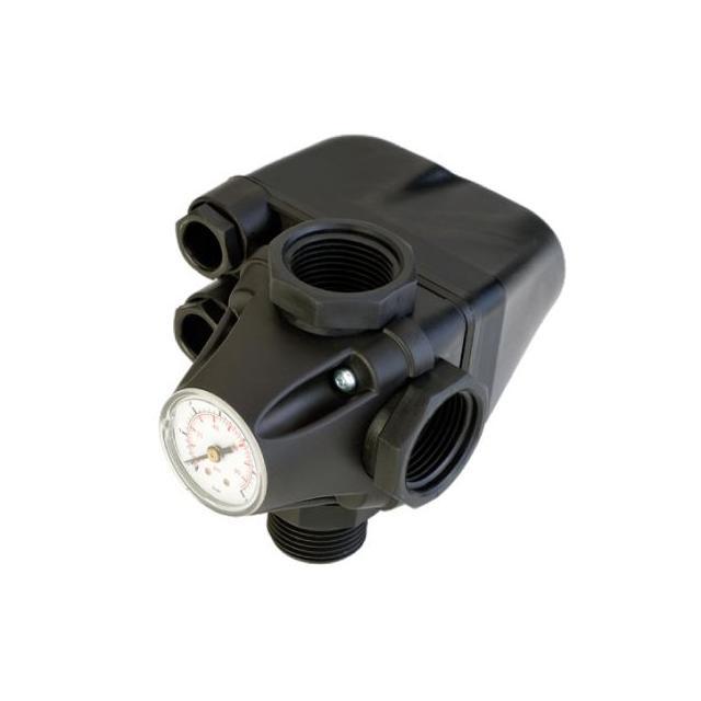 PM/5-3W 2-3,5bar s integrovaným manometrem a spoj armaturou a kabely