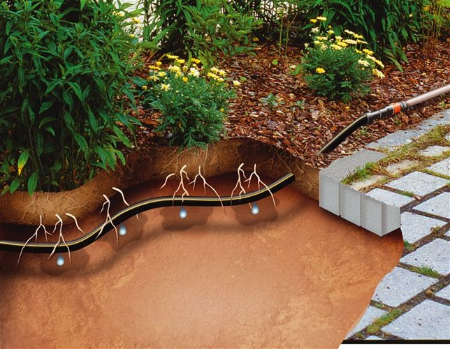 Gardena Kapací hadice podzemní 50m ,rozšiřovací sada