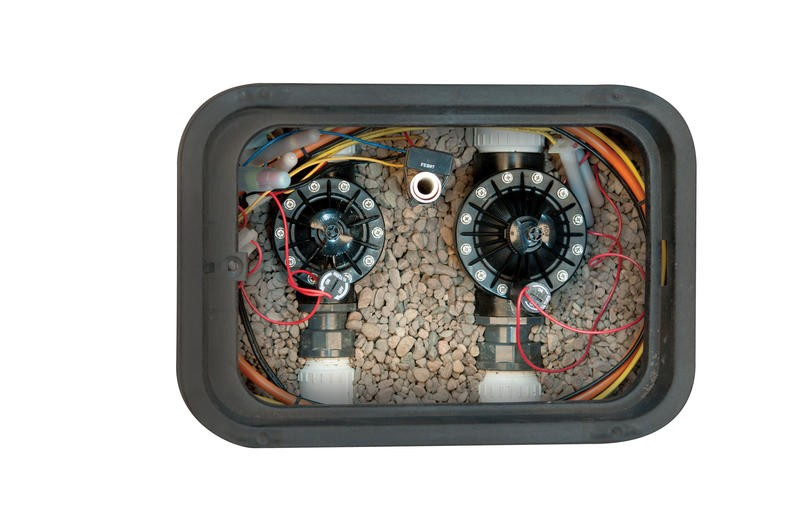 """Hunter El.magnetický ventil PGV 2"""", 24 V AC - vnitřní závity - s regulací průtoku"""