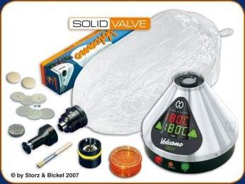 Vaporizer VOLCANO DIGIT + SOLID VALVE set