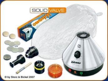 Vaporizer VOLCANO CLASSIC + SOLID VALVE set
