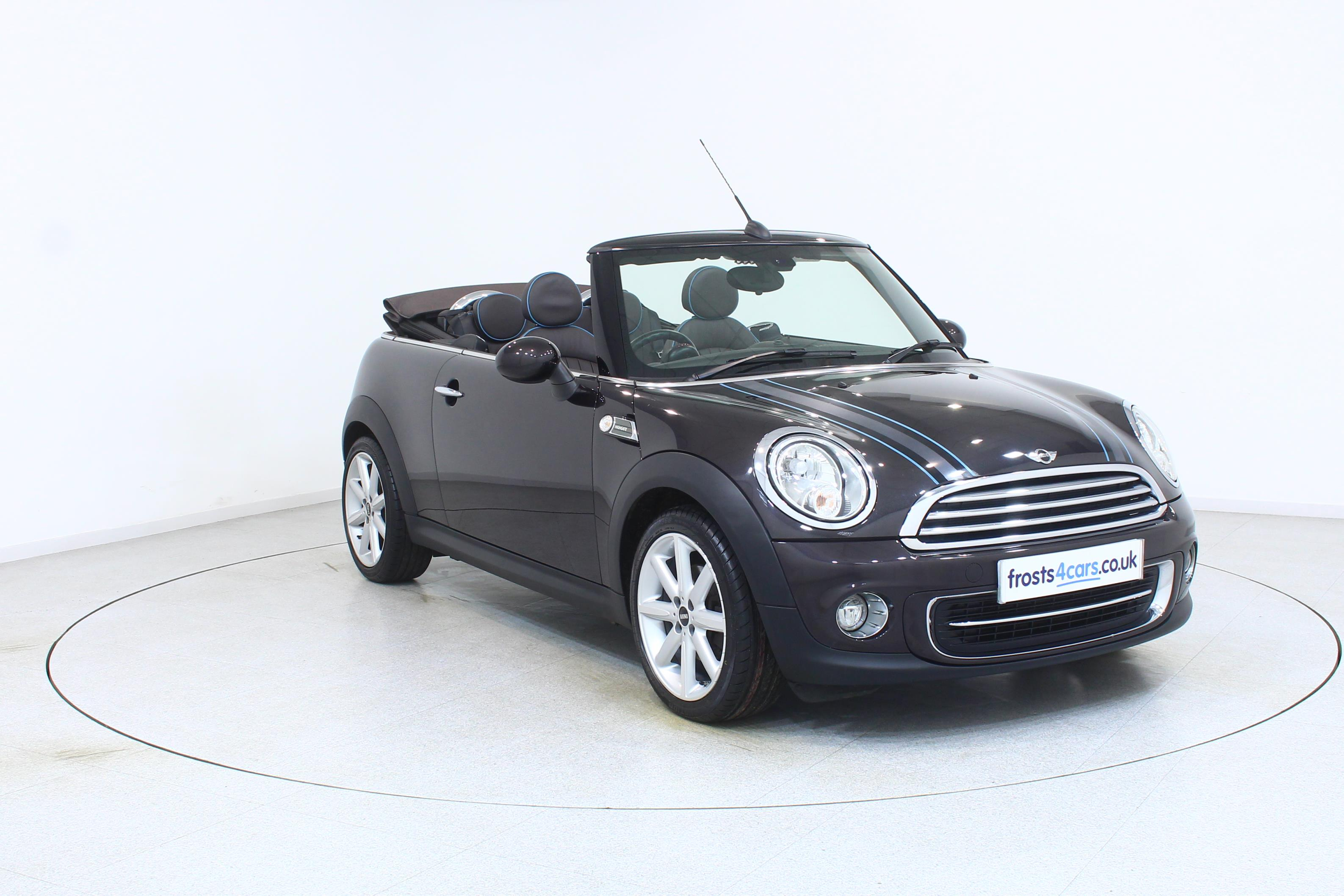 Mini Convertible Cooper Highgate 16i 16v Full Truffle Leather Trim