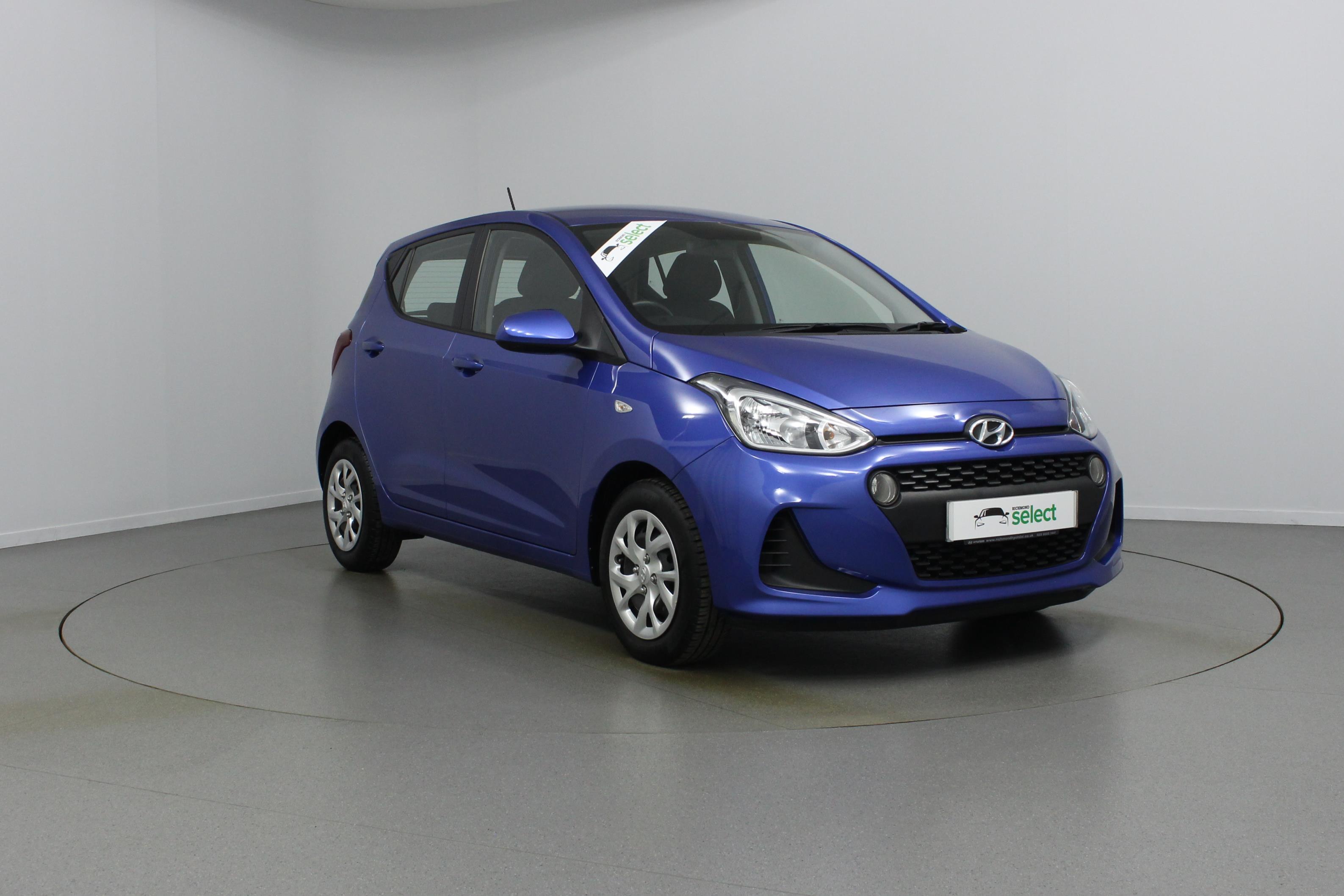 Hyundai I10 1 2 Se Colour Blue Price 8 492 Mileage 6 237 Richmond Motor Group
