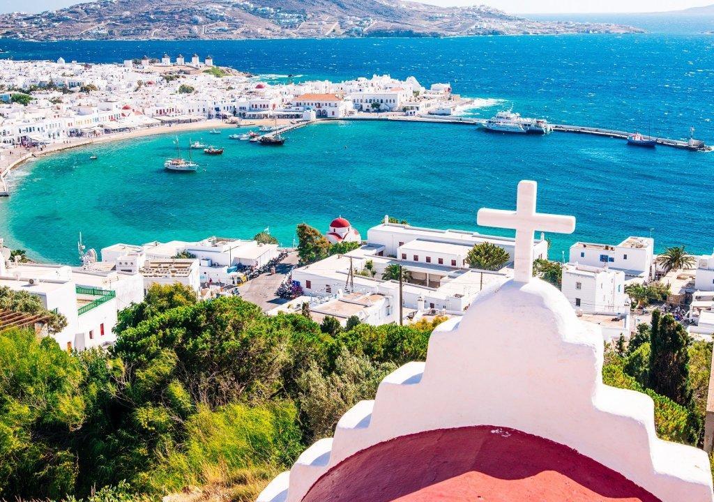 4*-Zonvakantie op Mykonos incl. vlucht, transfer en ontbijt