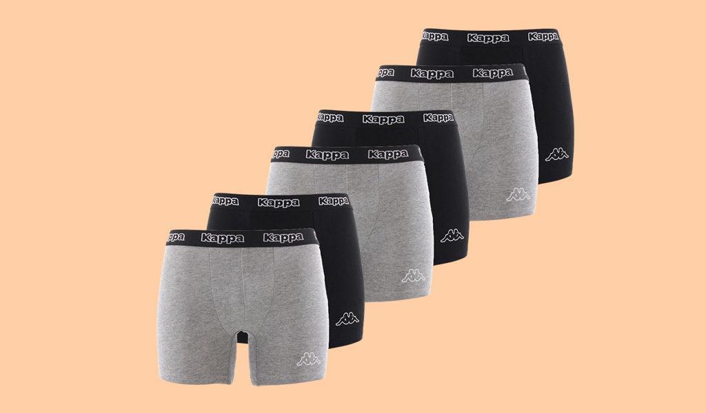 Set van 6 Kappa boxershorts