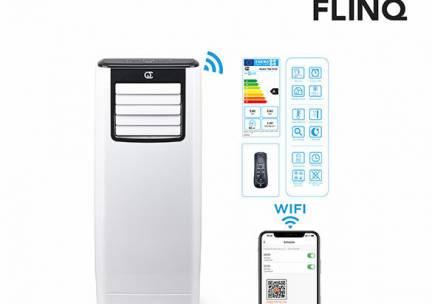 FlinQ Slimme Mobiele Airco - 9.000 BTU