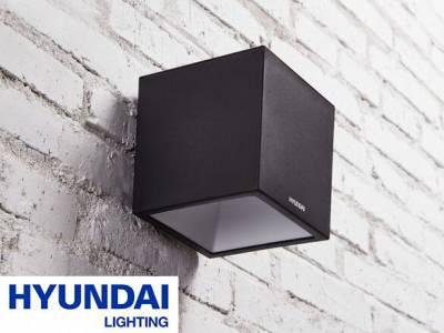 HyundaiKubus Wandlamp op Zonne-energie