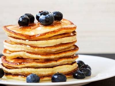 Pancakes + fris of bubble tea bij Scoopies (evt. afhalen)