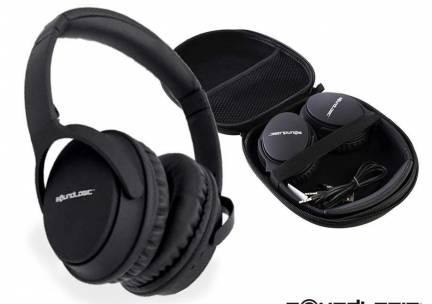 SoundLogic Noise Cancelling Koptelefoon - Onderdrukt Omgevingsgeluid! ...