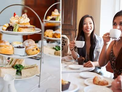 Luxe high tea bij Brasserie Het Keelven