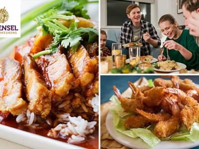 Thuisbezorgd of afhalen: Aziatisch menu