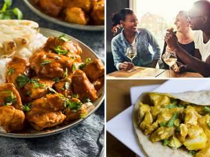 3-gangen keuzediner bij Taste of India