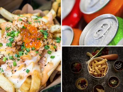 Thuisbezorgd: frietproeverij + salade + drankje
