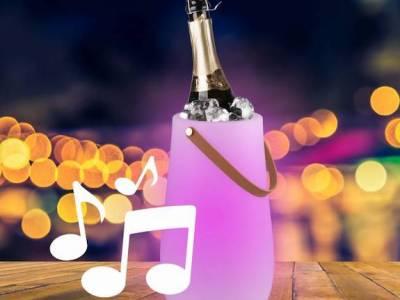 BluMill Wijnkoeler 3-in-1 Speakerlamp