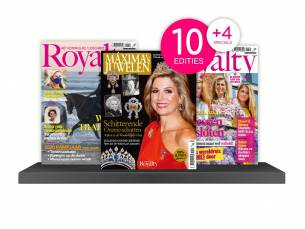 Abonnement op het magazine Royalty- 10 nummer + 4 Specials!