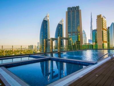Het hoogste hotel in Dubai