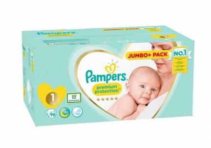 Pampers Premium Protection Luiers -1 - 2 tot 5kg