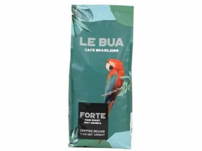 Le Bua Forte Dark Roast - Arabica Koffiebonen Le Bua Forte Dark Roast - 8x1kg incl. 1 Gratis Le Bua koffie mok