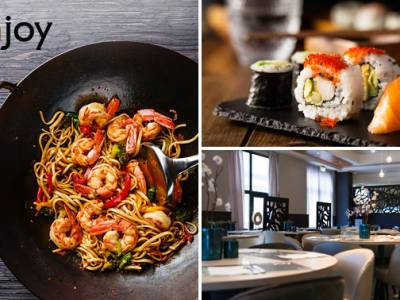 All-You-Can-Eat & Drink (3 uur) bij Njoy