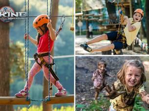 Entree tot Viking Adventure Park of Viking-klimpark