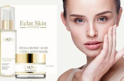 Anti-aging huidverzorging: hyaluronzuur en collageen dagcrème, serum en/of masker