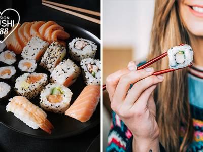 Afhalen: sushibox naar keuze (40 stuks)