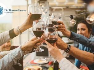 Wijnproeverij bij jou thuis (4, 6 of 8 personen)