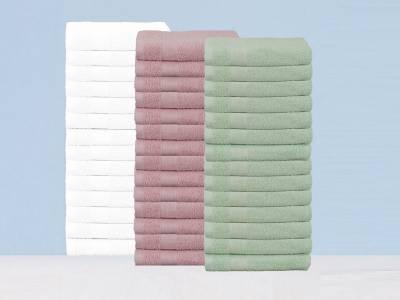 Set van 14 luxe handdoeken