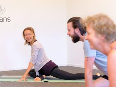 5 lessen yoga (60 min)