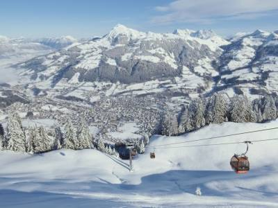 Wintersport in de Kitzbüheler Alpen in Tirol o.b.v. all-inclusive