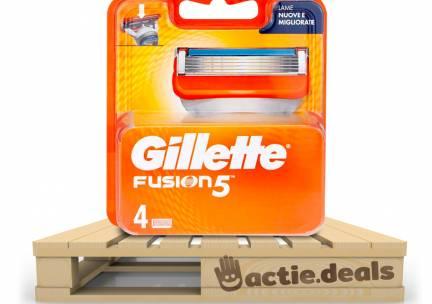Gillette Fusion5 scheermesjes (4 stuks) - Extra voordeel v.a. 2 verpakkingen!