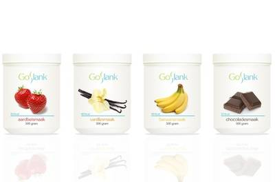 Afvallen met een GoSlank-pakket met shakes, online begeleiding van een dieetcoach, shaker en vetmeter