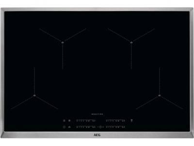 AEG IAE84411XB SenseBoil Hob2Hood 80 cm inductie kookplaat