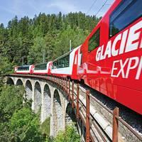 10-daagse bus- en treinrondreis Glacier- en Bernina Express