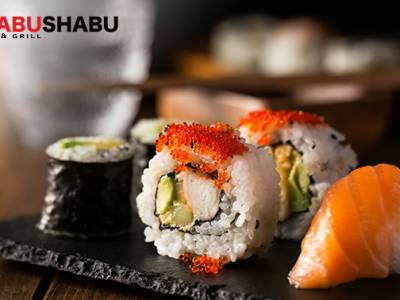 Afhalen: sushibox (24 of 40 stuks) bij Shabu in Ede