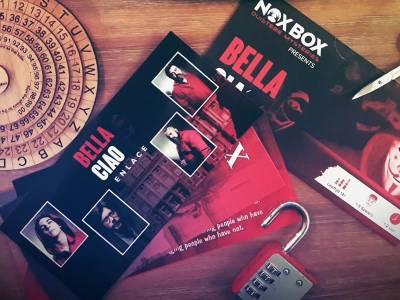 Escape spel voor thuis 'Bella Ciao'