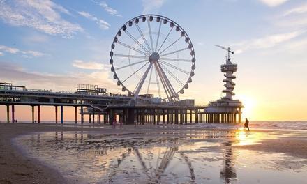 Nabij het strand en hartje Den Haag: deluxe tweepersoonskamer voor twee in 4* Paleis Hotel
