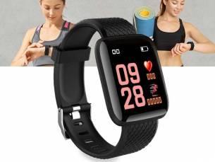 Smartwatch Fitness Tracker - Met Veel Handige En Gezondheid Functies! ...