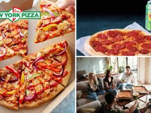 Afhalen bij New York Pizza: pizza (25 cm)