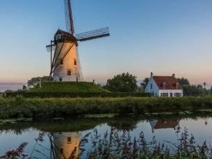 Verblijf in Meetjesland nabij Brugge en de kust