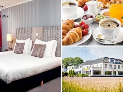 Overnachting voor 2 + ontbijt vlak bij Leeuwarden