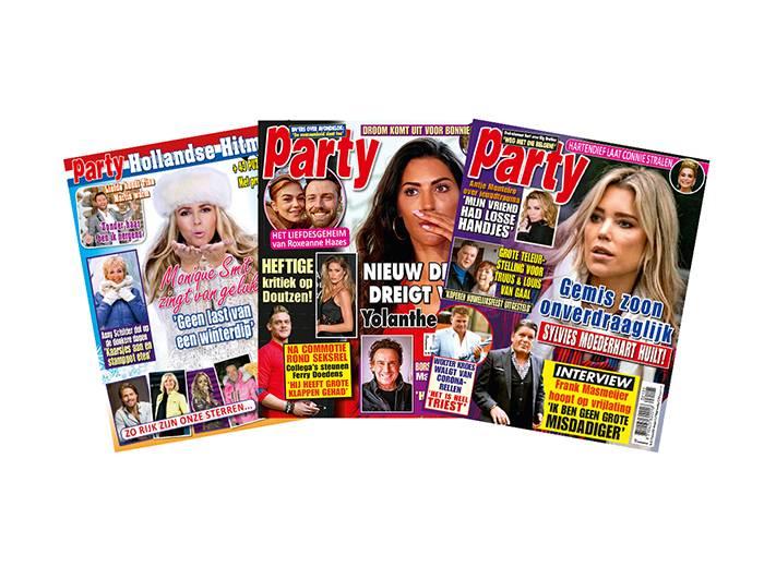 Abonnement op tijdschrift Party