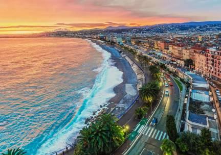 'La bella Nizza': stedentrip naar Nice incl. vlucht en ontbijt