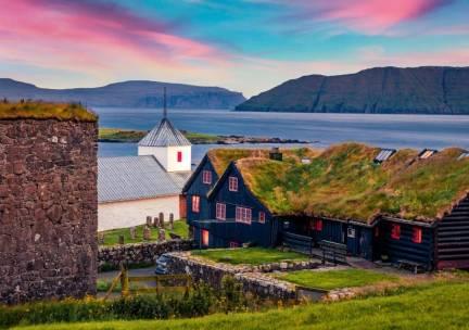 Winterrondreis Noord-Atlantische Cruise IJsland&Faeröer Eilanden - Oad busreizen