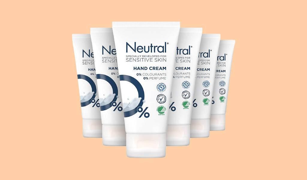 Neutral handcreme 6 tubes