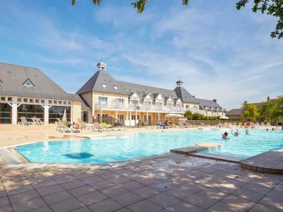 Vakantiepark in Normandië nabij het strand